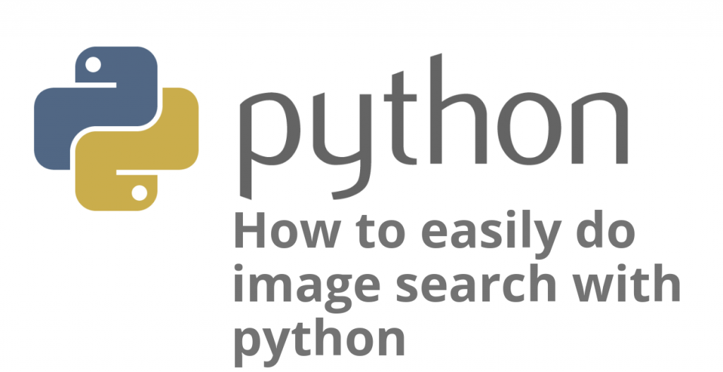 image search with python
